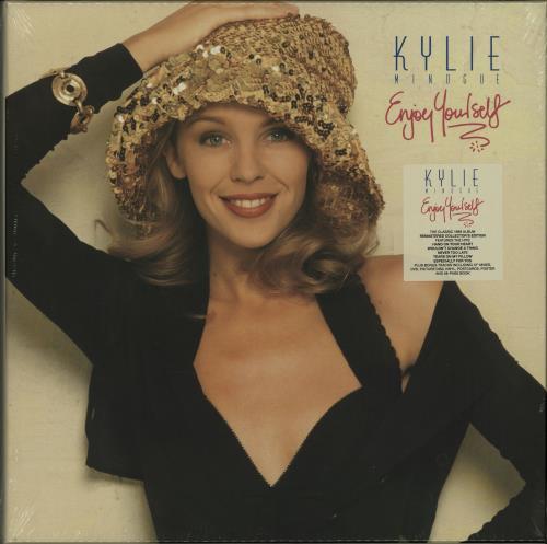 Kylie Minogue Enjoy Yourself - Sealed box set UK KYLBXEN644841