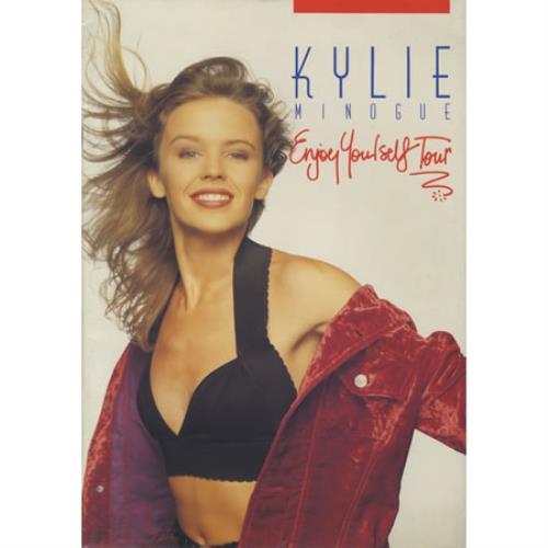 Kylie Minogue Enjoy Yourself UK Tour tour programme UK KYLTREN04995