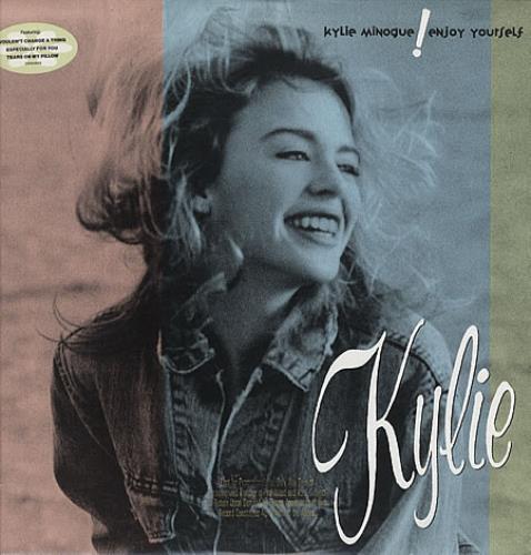 Kylie Minogue Enjoy Yourself vinyl LP album (LP record) US KYLLPEN33366