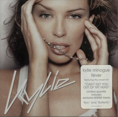 Kylie Minogue Fever - Sealed CD album (CDLP) US KYLCDFE208552