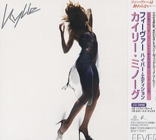Kylie Minogue Fever - Sealed 2 CD album set (Double CD) Japanese KYL2CFE227670
