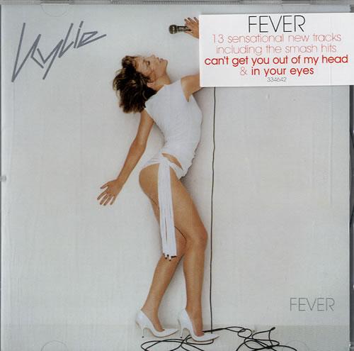 Kylie Minogue Fever CD album (CDLP) Australian KYLCDFE203963