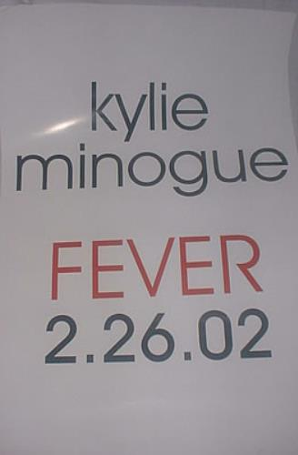 Kylie Minogue Fever poster US KYLPOFE209521