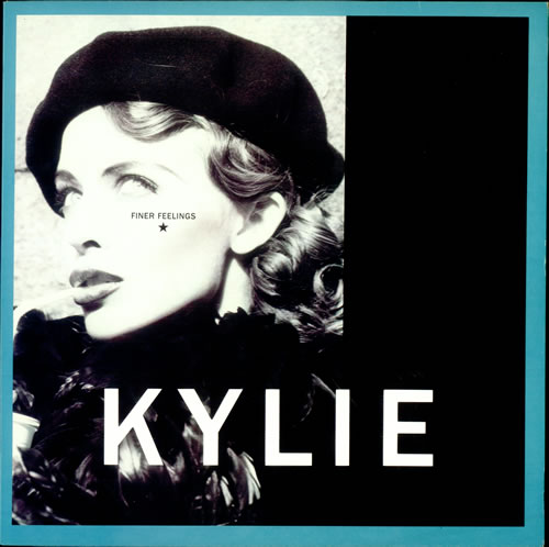 "Kylie Minogue Finer Feelings 12"" vinyl single (12 inch record / Maxi-single) UK KYL12FI58080"