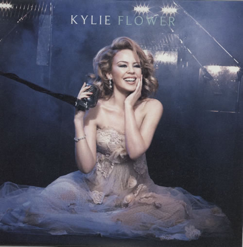 "Kylie Minogue Flower CD single (CD5 / 5"") UK KYLC5FL576708"