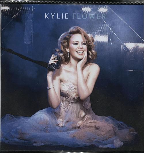 Kylie Minogue Flower CD-R acetate UK KYLCRFL577583