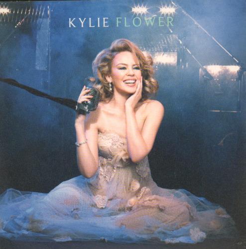 "Kylie Minogue Flower CD single (CD5 / 5"") UK KYLC5FL672676"