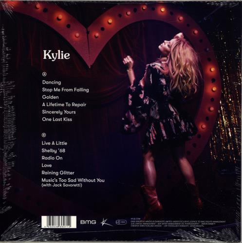 Kylie Minogue Golden - Black Vinyl + Photograph vinyl LP album (LP record) UK KYLLPGO698135