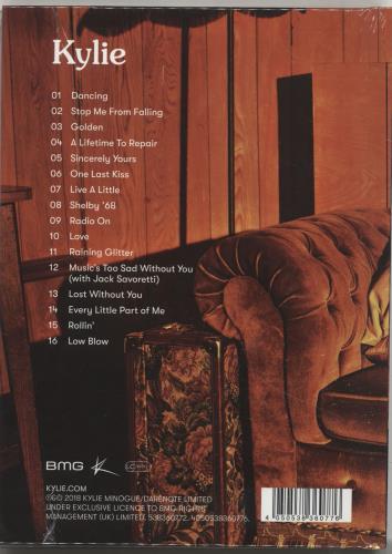 Kylie Minogue Golden - Deluxe Editiion - Sealed CD album (CDLP) UK KYLCDGO694496