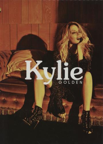 Kylie Minogue Golden - Deluxe Edition CD album (CDLP) UK KYLCDGO754838
