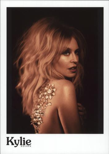 Kylie Minogue Golden - Two Photos photograph UK KYLPHGO707233