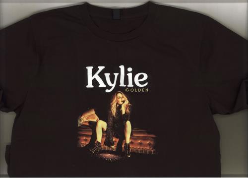 Kylie Minogue Golden Tour - Large t-shirt UK KYLTSGO710678