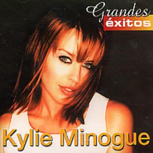 Kylie Minogue Grandes Exitos CD album (CDLP) Venezuelan KYLCDGR264713