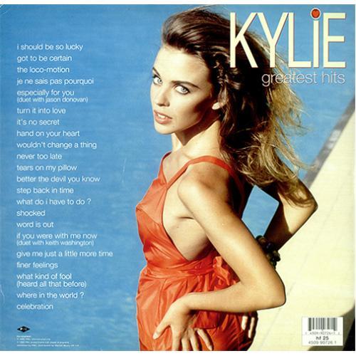 Kylie Minogue Greatest Hits Sealed Uk 2 Lp Vinyl Record
