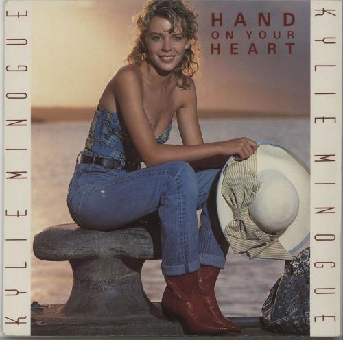 "Kylie Minogue Hand On Your Heart - Jukebox 7"" vinyl single (7 inch record) UK KYL07HA663749"
