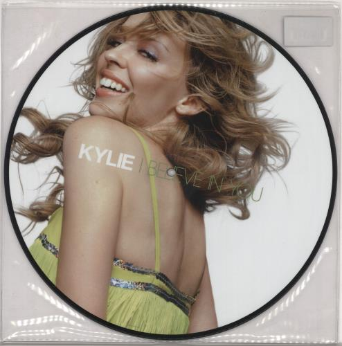"""Kylie Minogue I Believe In You 12"""" vinyl picture disc 12inch picture disc record UK KYL2PIB309210"""
