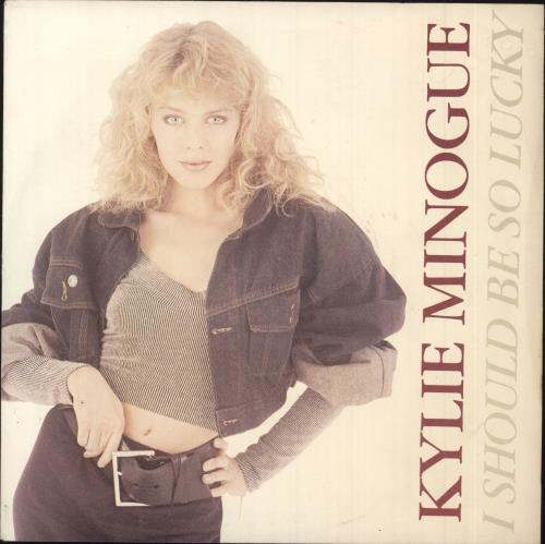"Kylie Minogue I Should Be So Lucky - Injection 7"" vinyl single (7 inch record) UK KYL07IS745323"