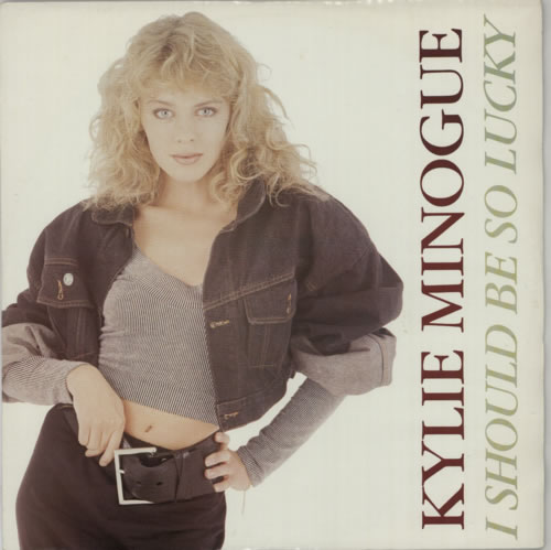 """Kylie Minogue I Should Be So Lucky - P/S 12"""" vinyl single (12 inch record / Maxi-single) UK KYL12IS36999"""