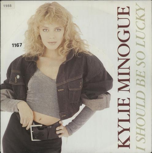 """Kylie Minogue I Should Be So Lucky 7"""" vinyl single (7 inch record) German KYL07IS663756"""