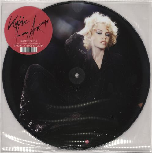 "Kylie Minogue In My Arms 12"" vinyl picture disc 12inch picture disc record German KYL2PIN426790"