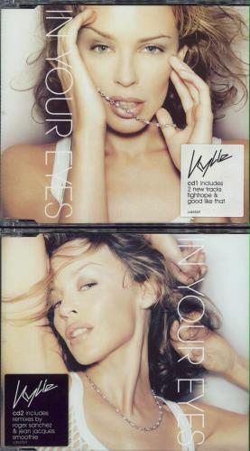 Kylie Minogue In Your Eyes 2-CD single set (Double CD single) UK KYL2SIN204443