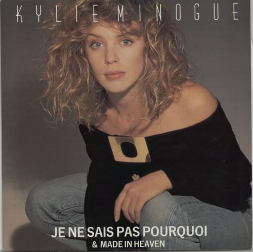 "Kylie Minogue Je Ne Sais Pas Pourquoi 12"" vinyl single (12 inch record / Maxi-single) UK KYL12JE03002"