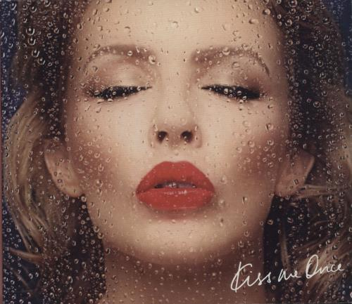 Kylie Minogue Kiss Me Once 2-disc CD/DVD set UK KYL2DKI601010