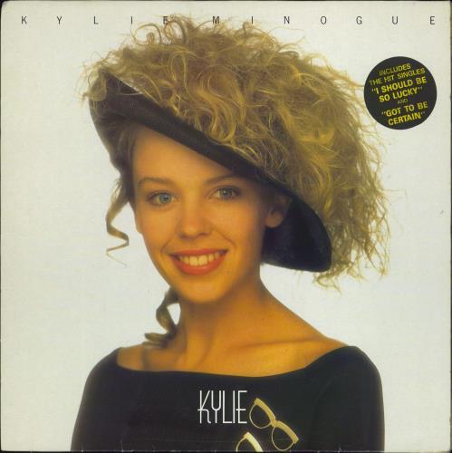 Kylie Minogue Kylie - Hype Stickered [2 songs] vinyl LP album (LP record) UK KYLLPKY602231