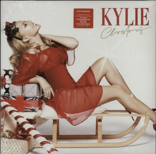 Kylie Minogue Kylie Christmas vinyl LP album (LP record) UK KYLLPKY644689