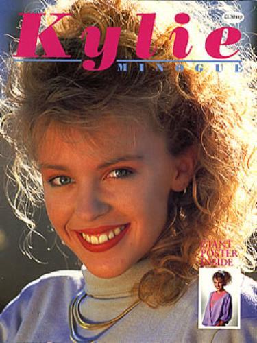 Kylie Minogue Kylie Minogue No Poster Uk Magazine