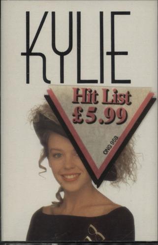 Kylie Minogue Kylie Minogue cassette album UK KYLCLKY51020