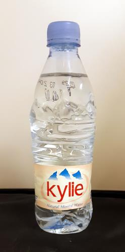 Kylie Minogue Kylie Natural Mineral Water - Evian memorabilia UK KYLMMKY243596