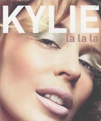 Kylie Minogue La La La book UK KYLBKLA331922