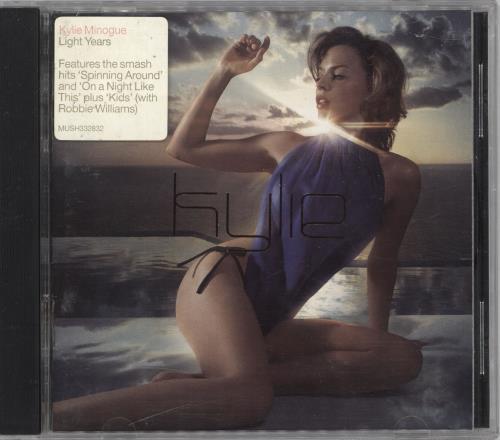 Kylie Minogue Light Years - Stickered Case CD album (CDLP) Australian KYLCDLI642193