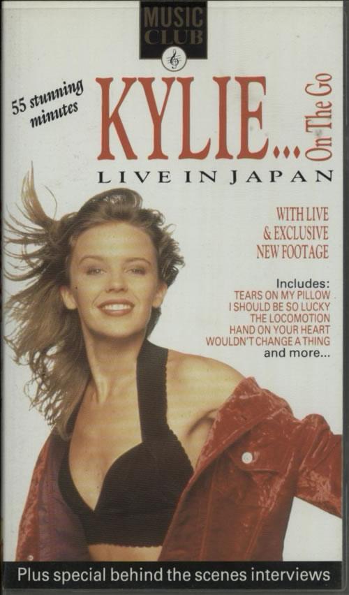 Kylie Minogue Live In Japan video (VHS or PAL or NTSC) UK KYLVILI125848