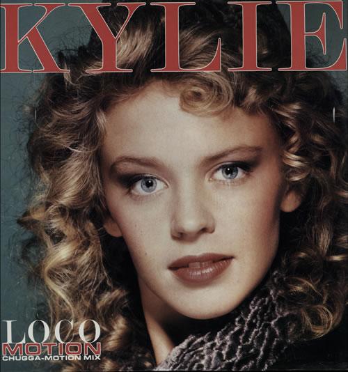 "Kylie Minogue Locomotion - Picture sleeve 12"" vinyl single (12 inch record / Maxi-single) Australian KYL12LO03003"