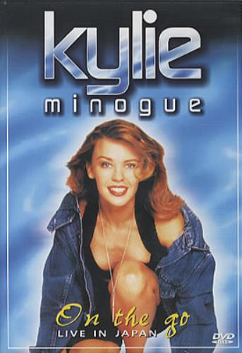 Kylie Minogue On The Go - Live In Japan DVD Brazilian KYLDDON328008