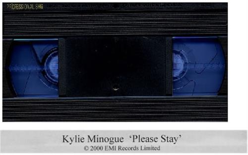 Kylie Minogue Please Stay video (VHS or PAL or NTSC) UK KYLVIPL185897