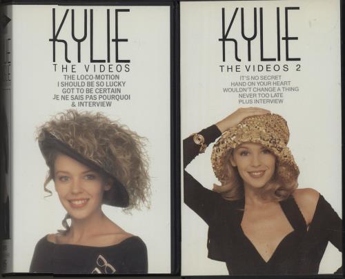Kylie Minogue Quantity of Five Videos video (VHS or PAL or NTSC) UK KYLVIQU663998