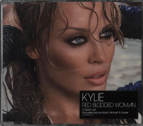 Kylie Minogue Red Blooded Woman 2-CD single set (Double CD single) UK KYL2SRE274399