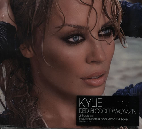 """Kylie Minogue Red Blooded Woman CD single (CD5 / 5"""") UK KYLC5RE570984"""