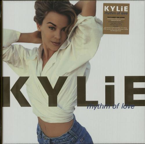 Kylie Minogue Rhythm Of Love - Sealed box set UK KYLBXRH644838