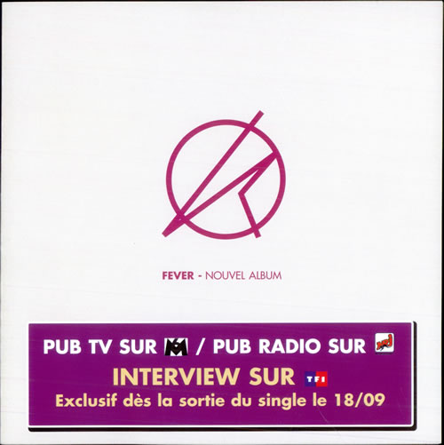 Kylie Minogue Set Of 5 Fever / Can't Get You Out Of My Head Handbills handbill French KYLHBSE512026