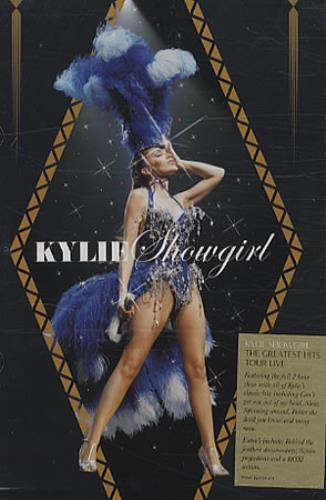 Kylie Minogue Showgirl - The Greatest Hits Tour DVD UK KYLDDSH341649