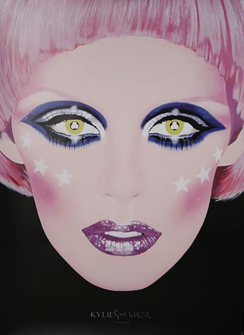 Kylie Minogue Showgirl Homecoming Tour poster UK KYLPOSH436401