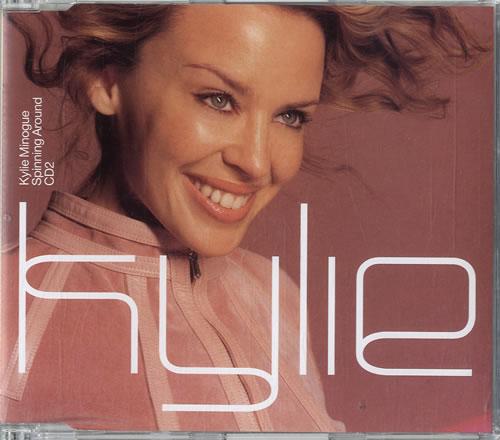 Kylie Minogue Spinning Around 2-CD single set (Double CD single) UK KYL2SSP158974
