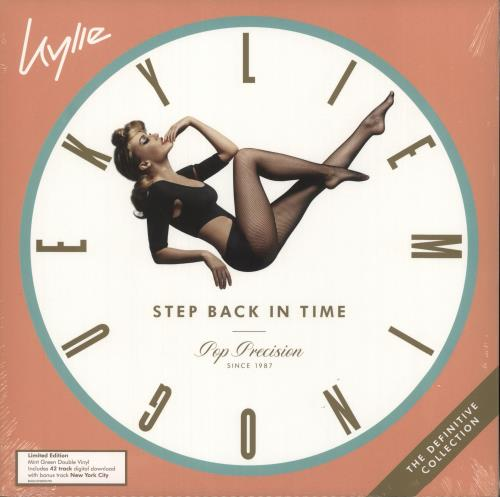 Kylie Minogue Step Back In Time: The Definitive Collection - Mint Green Vinyl - Sealed 2-LP vinyl record set (Double Album) UK KYL2LST724807