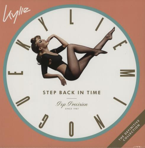 Kylie Minogue Step Back In Time: The Definitive Collection 2-LP vinyl record set (Double Album) UK KYL2LST750518