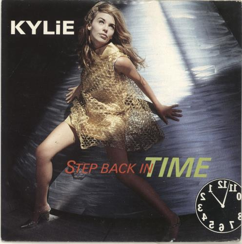 """Kylie Minogue Step Back In Time 7"""" vinyl single (7 inch record) UK KYL07ST37968"""