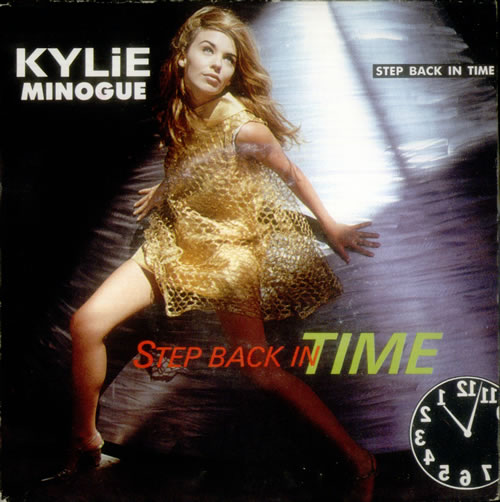 "Kylie Minogue Step Back In Time 7"" vinyl single (7 inch record) French KYL07ST545118"